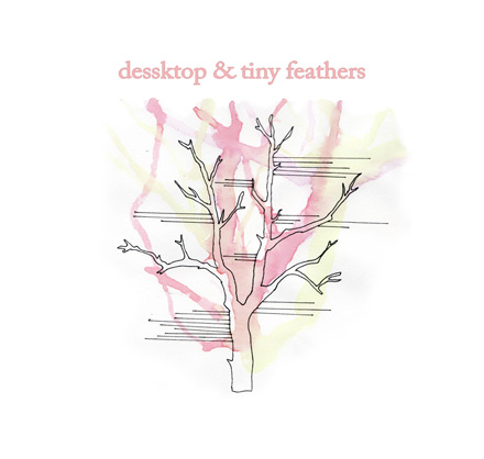 dessktop & tiny feathers, split ep